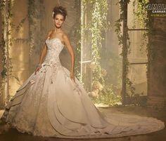 Neu Brautkleid Hochzeitskleid Gr.38/40/42/44/46/48/50
