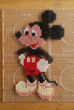 Mickey Mouse hama perler beads  by  Jeannet Stotefalk