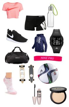 """""""#67"""" by b3ttyw3ldon on Polyvore featuring NIKE, POC, Eva Solo, adidas, Reebok, Isabel Marant, Hello Kitty and Maybelline"""