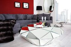 Very cool table Design Hotel, House Design, Spiegel Design, Cool Tables, Interior Decorating, Interior Design, Glass House, Glass Table, Glass Design