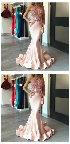 Mermaid Prom Dress,Beading Prom Dresses,Long Evening Dress