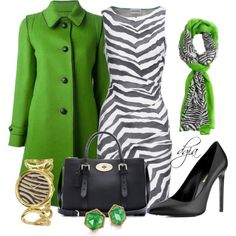 Style this dress, created by dgia on Polyvore