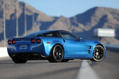 Corvette C6 ZR1 rear