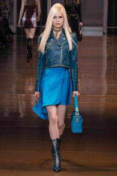 Versace Fall 2014 Ready-to-Wear Fashion Show - Ola Rudnicka