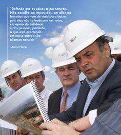 Aécio mudou o jeito de governar Minas e tem muito a oferecer ao Brasil. #Aécio2014 #AécioNeves Eleições2014