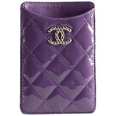 #Chanel Patent Leather IPhone Case