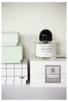 I love the Byredo Parfumes packaging and scents.    Today you inspired me