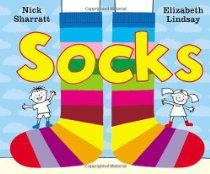 Stupendous Socktastic Silliness: Fun activities to go along with the book Socks ~ Playing by the Book