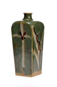 LNT of Japan Ceramist Shimaoka TATSUZO (Japanese: 1919 - 2007) -  Bottle Vase