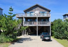 AVON Vacation Rentals   The Grand Banks - Oceanview Outer Banks Rental   706 - Hatteras Rental