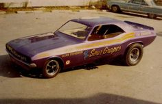 The Sour Grapes funny car