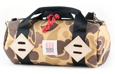 Topo Designs Mini Duffel: Building upon the release of its Mini Mountain Bag earlier this year, Colorado-based Topo Designs Back To School Bags, Crossbody Bag, Tote Bag, Duffel Bag, Commuter Bag, Convertible Backpack, Laptop Backpack, Briefcase, Camouflage