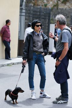 Pitti Street Style Photos - Street Style Pictures from Florence - Elle