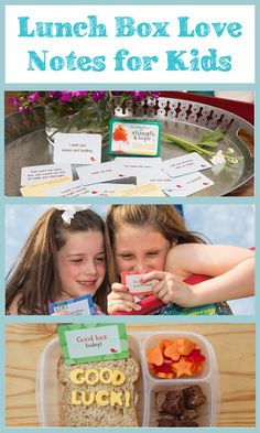 Lunch Box Love Notes for Kids #Giveaway from @5minutesformom #BTS #kids