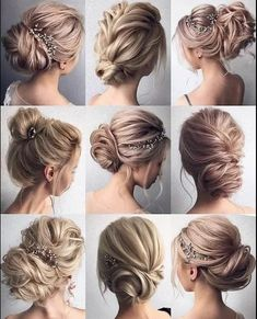 Which Hairstyle Do You Like The Most? Comment Below  #Hairstyles #hairdo #messybun #braids
