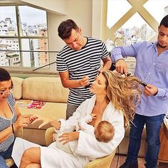 """Stars & Their Glam Squads 