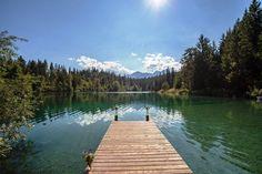 Weekend in Flims-Laax, Graubünden mit Seenwanderung: Wandern ab Flims zum Caumasee, Rheinschlucht ruinaulta, Aussichtsplattform Il Spir, Crestasee.