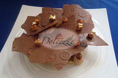 Crocante de avellanas y chocolate