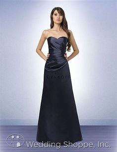Bill Levkoff dress 785: available in euro eggplant and euro plum