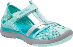 Buy the Merrell Hydro Monarch Girls Sandal at PlanetShoes.com.  From new hiking shoes to conquer your mountain to innovative barefoot and minimalist footwear for the runner in you at PlanetShoes.com, your trusted source for feel-good footwear, with free shipping & returns!  (Coral)