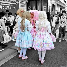 Sweet Lolita, Harajuku by tokyofashion, via Flickr
