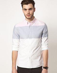 ASOS Oxford Stripe Shirt