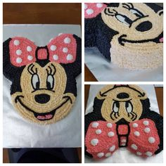 MinnieMouse Chocolate & Butter cream Cake