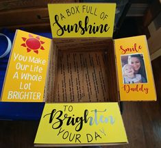 Deployment care package for my sailor. - Deployment care package for my sailor. Deployment Care Packages, Deployment Gifts, Military Deployment, Care Package Decorating, Sunshine Care Package, Chemo Care Package, Birthday Care Packages, Surgery Gift, Box Of Sunshine