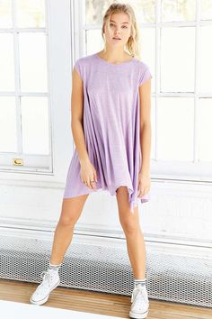 BDG Carina Oversized T-Shirt Dress - Urban Outfitters