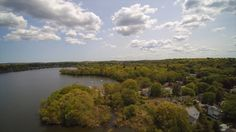 Sunny Day Lake Quannapowitt By Jamie Boudreau Airgoz Aerial Photography
