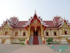 Pha That Luang Museum in Vientiane, Laos