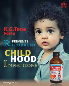 """#KGToneForte In 1-2 Years age With #immunity boosters from #nature to prevent """"Recurrent childhood #infections"""". Also, supplements calming #herbs for Improving Learning and Speech. #GrowingKids #GrowthNaturally #TonicForKids #AyurvedicMedicine #HerbalMedicine"""