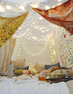 fort ideas indoor tent \ tent fort ideas - fort ideas indoor tent - cozy fort ideas tent - blanket fort ideas for kids girls tent Backyard Birthday Parties, Indoor Birthday, Sleepover Fort, Sleepover Activities, Girl Sleepover, Small Room Bedroom, Bedroom Decor, Girls Tent, Indoor Forts