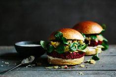 Beet Burger (English and German)