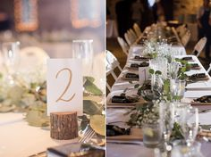 Table tops from Miners Foundry wedding, Nevada City, photos by Oh Snap Photography