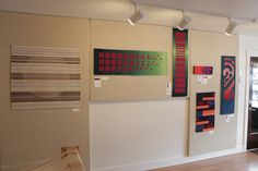 Kasala Gallery, Crested Butte, CO. Tapestries by Cornelia Theimer Gardella, Rebecca Mezoff, and Anji Bartholf.