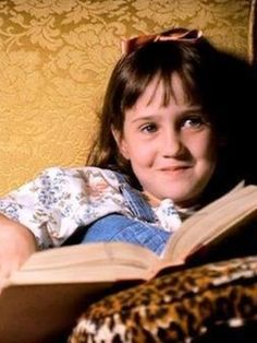 The Little Girl From 'Matilda' Kind Of Grew Up To Become Matilda