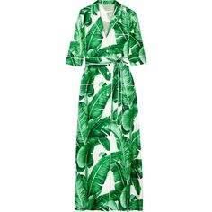 Dolce & Gabbana Printed silk-twill maxi dress (183.975 RUB) ❤ liked on Polyvore featuring dresses, green, green dress, green floral dress, green shirt dress, green wrap dress and wrap dress