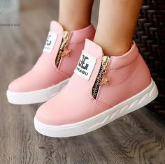 c14c0b1fc NEW 2018 Fashion Children Flats Breathable Zip Kids Casual shoes Autumn/Winter  Boys Girls Sport shoes Sneakers 03-in Sneakers from Mother & Kids on ...