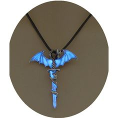 Glowing Cross necklace, dragon necklace, wing necklace, guardian... ($7.99) ❤ liked on Polyvore featuring jewelry, necklaces, cross jewelry, crucifix pendant, cross pendant jewelry, pendant jewelry and wing jewelry