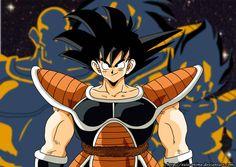 Goku Saiyan - Coloured by Ezio-anime on DeviantArt