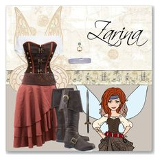 """Zarina"" by astriddt ❤ liked on Polyvore featuring York Wallcoverings, Disney, Boohoo, disney, disneybound, Costume and DisneyCostume"