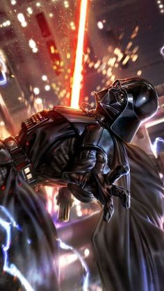 Darth Vader - Star Wars Vader - Ideas of Star Wars Vader - Darth Vader Star Wars Fan Art, Star Wars Concept Art, Star Wars Jedi, Star Trek, Star Wars Collection, Star Citizen, Images Star Wars, Star Wars Painting, Star Wars Wallpaper