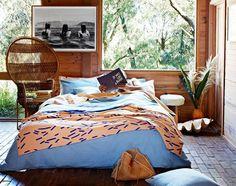 Ethnic vibe bedroom