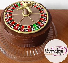 Roulette cake (Torta de ruleta) https://www.facebook.com/ChromatiquePasteleria