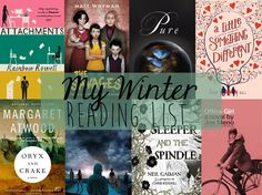 My Winter Reading List + My 2015 Book Goal