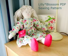 Ragdoll Sewing Pattern