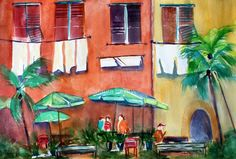 Laundry Day #Watercolor Print $20.00 #HomeDecor