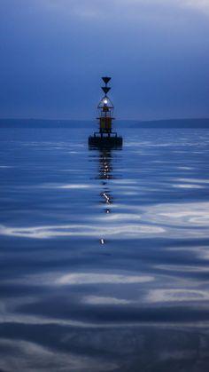 Calm waters by Alex Mathias