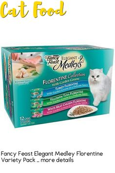 (This is an affiliate pin) 5000057281 Features: -Gourmet cat food. -Restaurant inspired(r) food for cats. -Ingredients: Turkey Florentine: Poultry Broth, Turkey, Wheat Gluten, Liver, Meat By-Products, Spinach, Corn Starch-Modified, Artificial and Natural Flavors, Salt, Calcium Phosphate, Added Color, Soy Protein Concentrate, Potassium Chloride, Taurine,Choline Chloride, Magnesium Sulfate, Thiamine Mononitrate, Vitamin E Supplement, Zinc Sulfate, Ferrous Sulfate, Niacin, Calcium… Magnesium Sulfate, Calcium Phosphate, Canned Cat Food, Wheat Gluten, Soy Protein, Corn Starch, Natural Flavors, Vitamin E